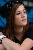 Young teenage girl Stock Image
