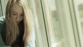 Young teenage sad woman Royalty Free Stock Images