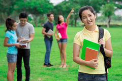 Young teenage student Royalty Free Stock Images