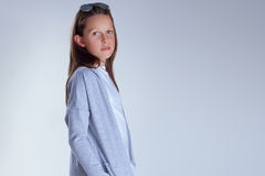 Young teenager girl. Royalty Free Stock Photography