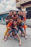 Young teenagers, Manado Nort Sulawesi Indonesia royalty free stock image