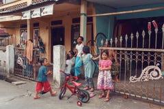 Young teenagers, Manado Nort Sulawesi Indonesia stock image