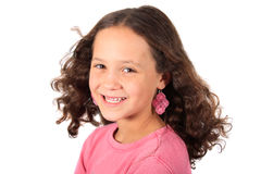 Young ten year old girl Stock Photography