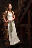 Young tender bride Stock Photos