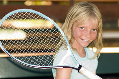Young Tennis Player Royalty Free Stock Photos