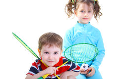 Young tennis player Royalty Free Stock Photo