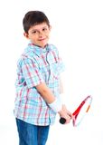 Young tennis player Royalty Free Stock Photography