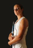 Young tennis pro Royalty Free Stock Photo