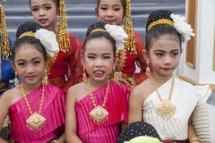 Young Thai dancers Stock Images