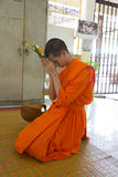 Young Thai monks Stock Photography