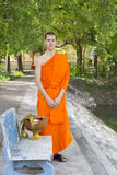 Young Thai monks Royalty Free Stock Photos