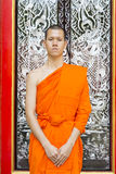 Young Thai monks Stock Photo