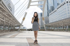 Young Thai woman Stock Photography