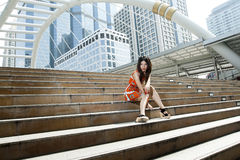 Young Thai woman Royalty Free Stock Photography