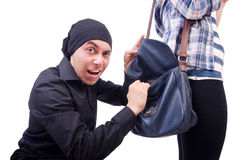 Young thief Stock Images