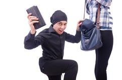 Young thief stock photos