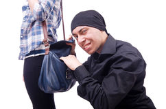 Young thief Royalty Free Stock Photography