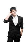 Young thoughtful businessman Royalty Free Stock Photo