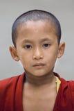 Young Tibetan Buddhist monk, Dharamsala, India Royalty Free Stock Photography
