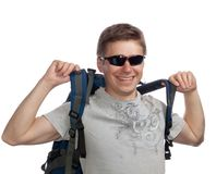 Young Tourist Royalty Free Stock Image
