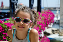 Young tourist at giglio island Stock Photography