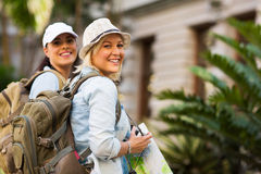 Young tourists Royalty Free Stock Photography