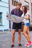 Young tourists Royalty Free Stock Images