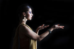Young traditional Asian Indian woman Royalty Free Stock Photography