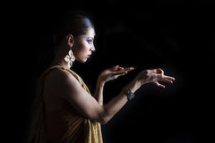 Young traditional Asian Indian woman Stock Photography