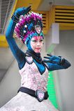 Young Singaporean dancer stock photos