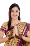 Young traditional Indian woman Stock Photography