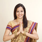 Young traditional Indian woman Royalty Free Stock Images