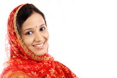 Young traditional Indian woman Stock Photos