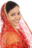 Young traditional Indian woman Royalty Free Stock Photography