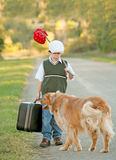 Young Traveler Stock Images