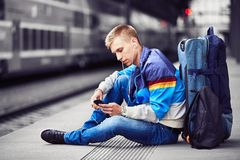Young traveler Royalty Free Stock Photography