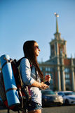 Young traveler Stock Photography