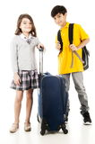 Young Travellers Royalty Free Stock Images