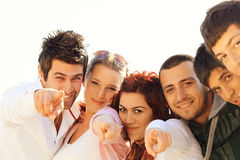 Young Turkish friends Royalty Free Stock Image
