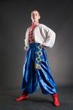 Young ukrainian cossack stock photos