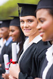 Young university graduates Royalty Free Stock Image