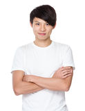 Young university student portrait Stock Photography