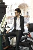 Young urban businessman portrait Stock Images