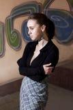 Young urban woman Stock Image