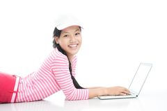 Young user Royalty Free Stock Photo
