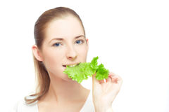 Young vegan Stock Image