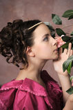 Young Victorian girl Royalty Free Stock Images