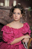 Young Victorian girl Royalty Free Stock Photography