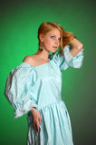 Young Victorian Lady Royalty Free Stock Images