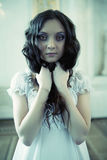 Young victorian lady Stock Photography